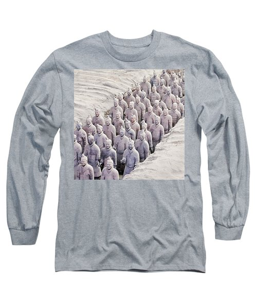 Terracotta Warriors Long Sleeve T-Shirt