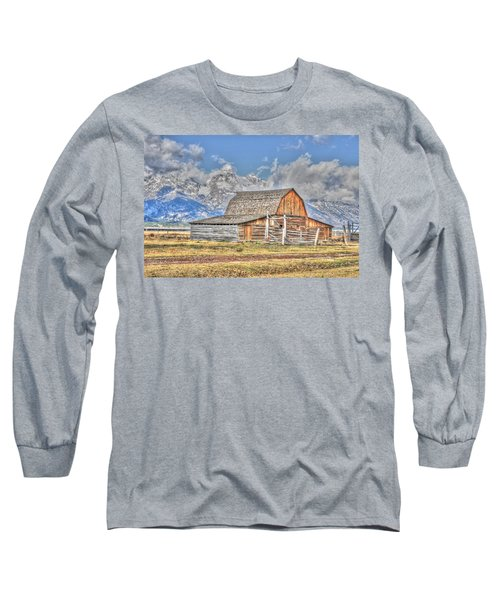 Teton Barn Long Sleeve T-Shirt