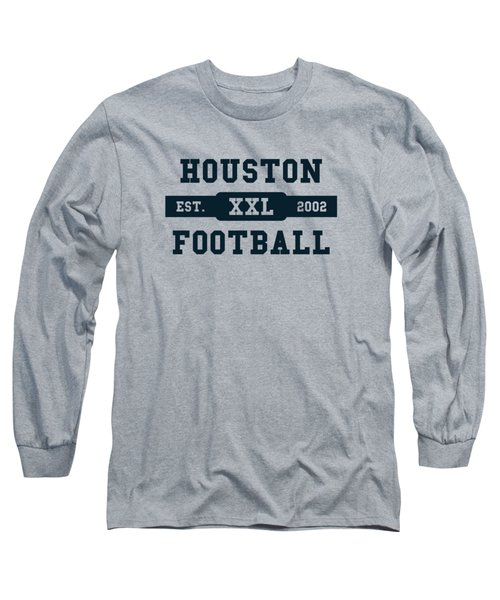 Texans Retro Shirt Long Sleeve T-Shirt