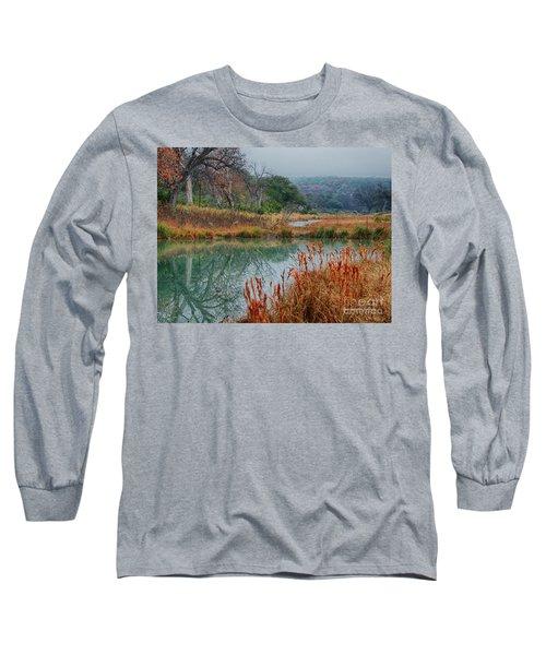 Texas Hill County Color Long Sleeve T-Shirt