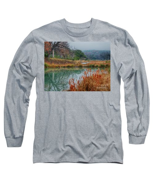 Texas Hill County Color Long Sleeve T-Shirt
