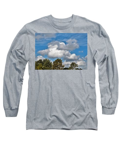 Long Sleeve T-Shirt featuring the photograph Texas - Reach For The Sky.   by Ray Shrewsberry