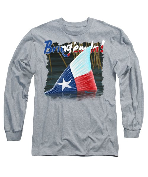 Texas Tails Long Sleeve T-Shirt