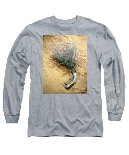 Long Sleeve T-Shirt featuring the photograph Texas Tumbleweed by Merton Allen