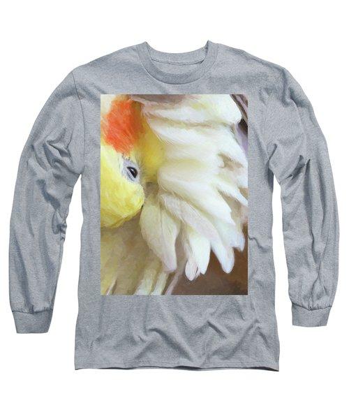 Texture Long Sleeve T-Shirt
