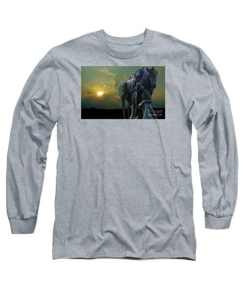 Thanks For The Rain  Long Sleeve T-Shirt by Janette Boyd