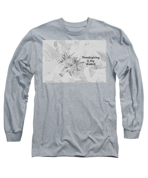 Thanks Giving Long Sleeve T-Shirt