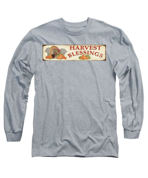 Long Sleeve T-Shirt featuring the painting Thanksgiving-f by Jean Plout