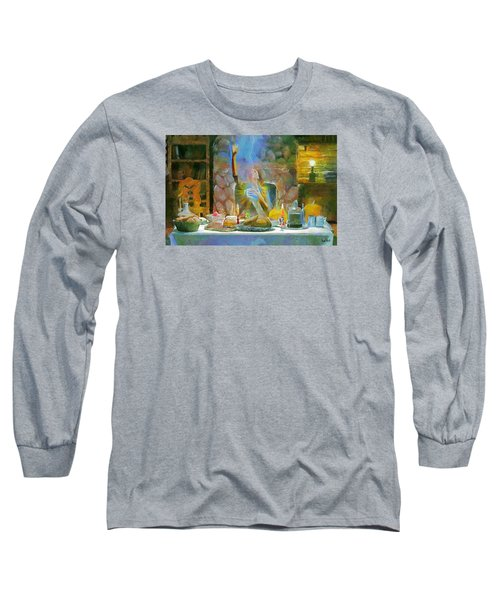 Thanksgiving Long Sleeve T-Shirt by Wayne Pascall