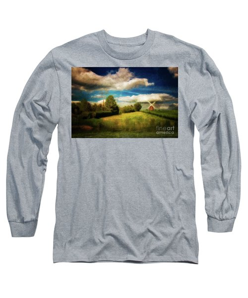Thaxted With Millpond Long Sleeve T-Shirt by Jack Torcello