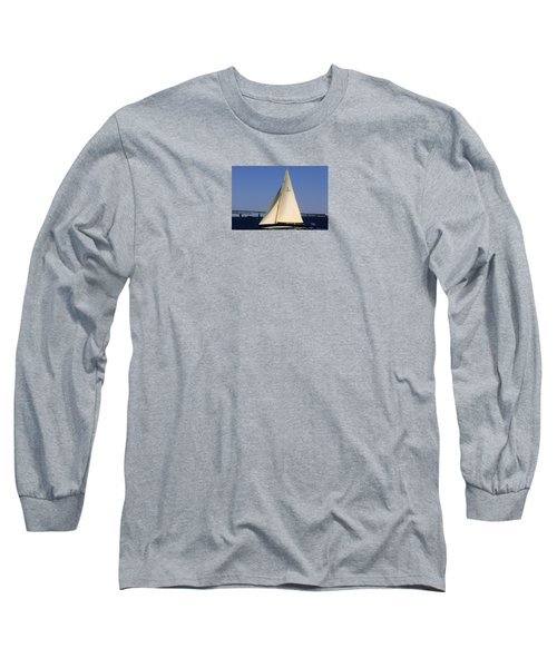 The 12 Meter Newport Long Sleeve T-Shirt by Tom Prendergast