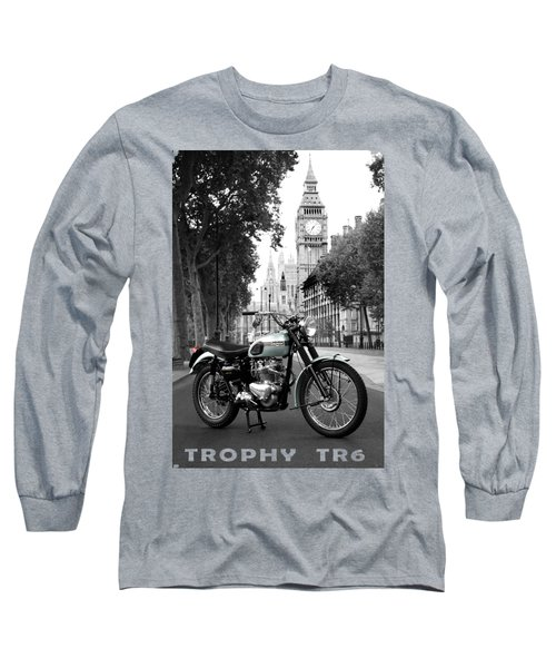 The 1956 Trophy Tr6 Long Sleeve T-Shirt