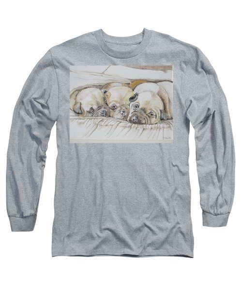 The 3 Puppies Long Sleeve T-Shirt
