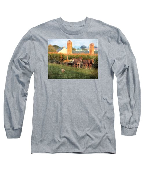 The Abundant Harvest Long Sleeve T-Shirt by Colleen Taylor