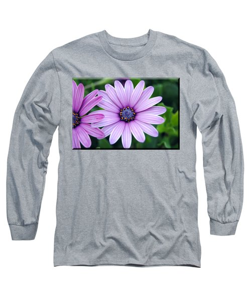 The African Daisy T-shirt 2 Long Sleeve T-Shirt by Isam Awad