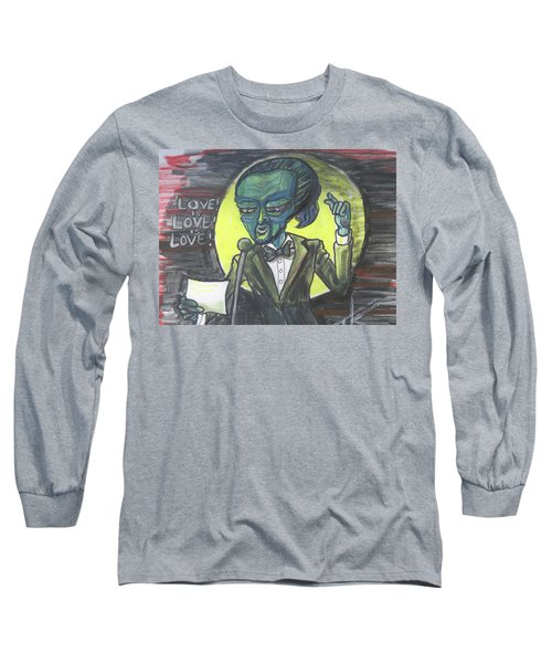 The Alien Lin-manuel Miranda Long Sleeve T-Shirt