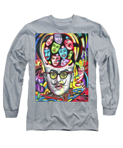 The Alluring Web Of Radical Thought Long Sleeve T-Shirt