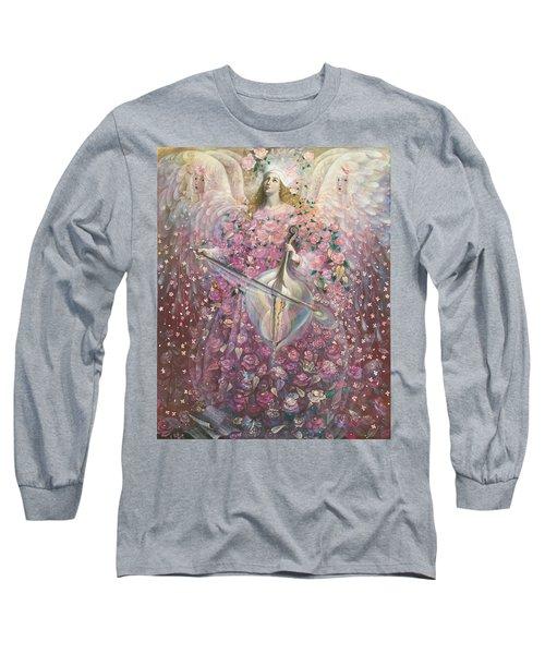 The Angel Of Love Long Sleeve T-Shirt