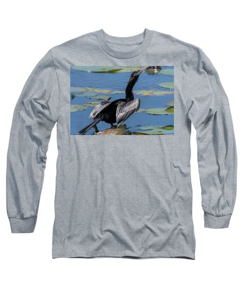 The Bird, Anhinga Long Sleeve T-Shirt