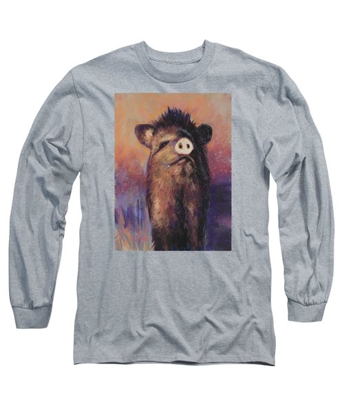 The Aristocrat Long Sleeve T-Shirt by Billie Colson