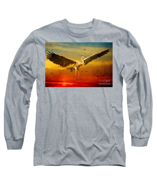 The Arrival And The Reuinion Long Sleeve T-Shirt by Heather King
