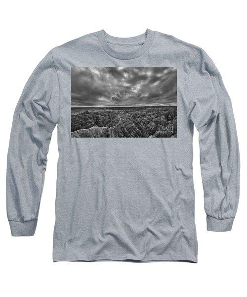 The Badlands Bw Long Sleeve T-Shirt