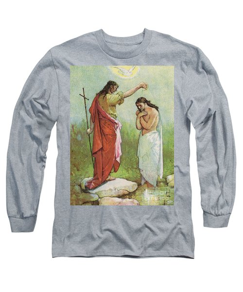 The Baptism Of Christ Long Sleeve T-Shirt