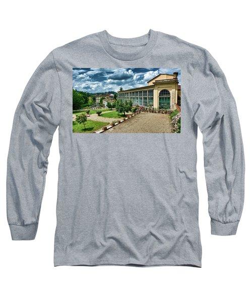 The Beauty Of The Boboli Gardens Long Sleeve T-Shirt