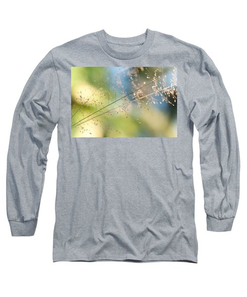 The Beauty Of The Earth. Natural Watercolor Long Sleeve T-Shirt