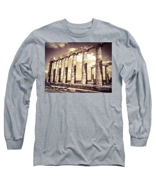 The Beauty Of The Temple Of Poseidon Long Sleeve T-Shirt