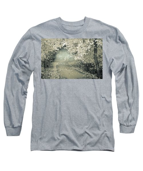 Long Sleeve T-Shirt featuring the photograph The Bench That Waits For You by Tara Turner