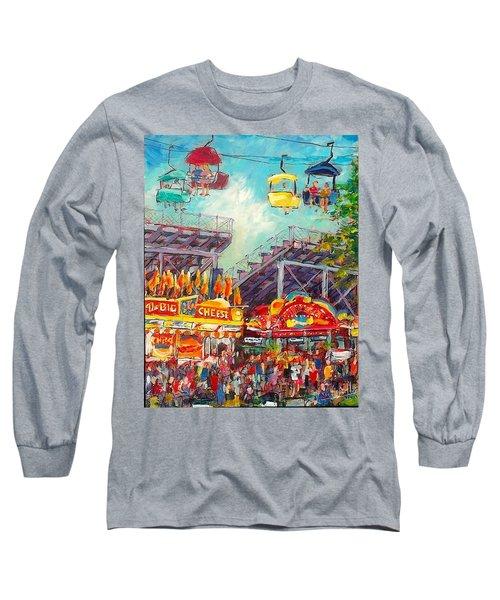 The Big Cheese Long Sleeve T-Shirt