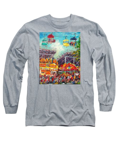 The Big Cheese Long Sleeve T-Shirt