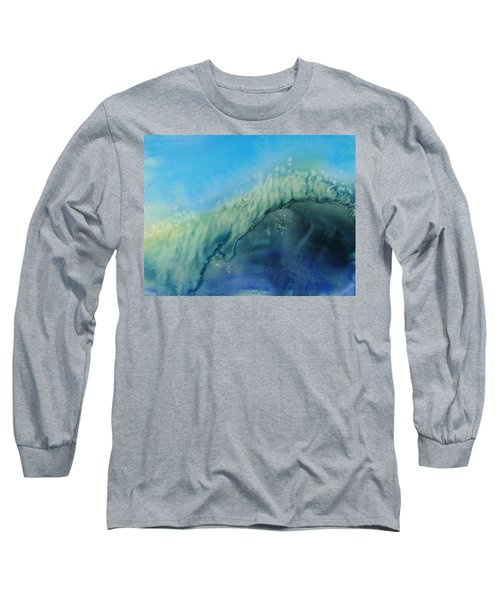 The Big Curl Long Sleeve T-Shirt by Susan Duda