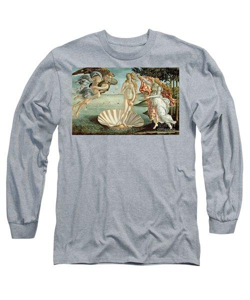 The Birth Of Venus Long Sleeve T-Shirt