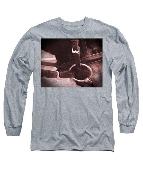 The Bit Long Sleeve T-Shirt by Roena King