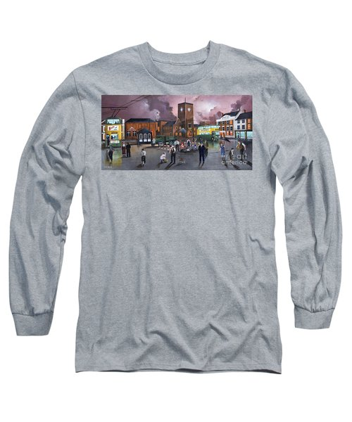 Dudley Trolley Bus Terminus 1950's Long Sleeve T-Shirt