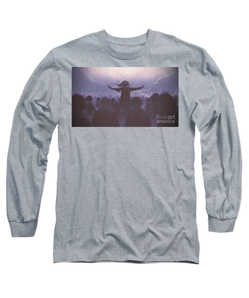 The Black Wizard Long Sleeve T-Shirt
