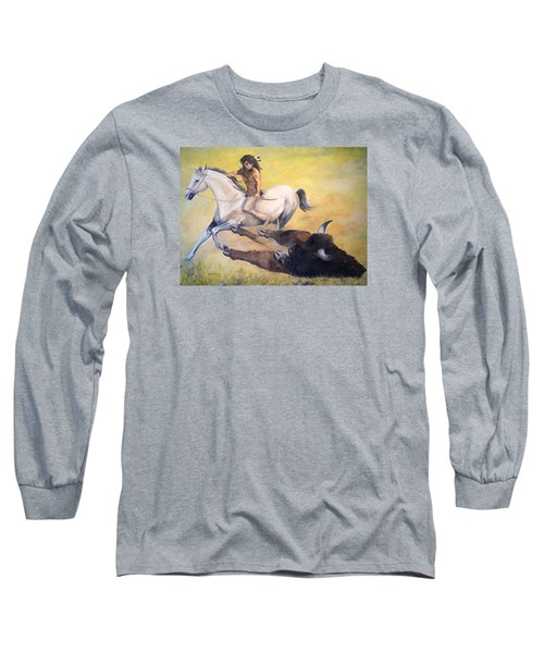 The Blessing Long Sleeve T-Shirt by Alan Lakin