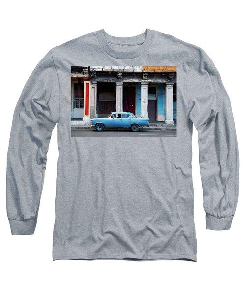 The Blue Car Long Sleeve T-Shirt