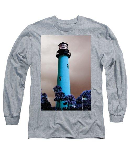 The Blue Lighthouse Long Sleeve T-Shirt