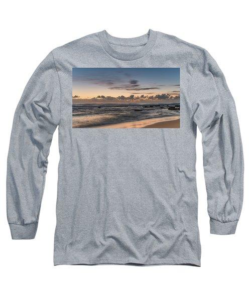 The Blues - Sunrise Seascape  Long Sleeve T-Shirt