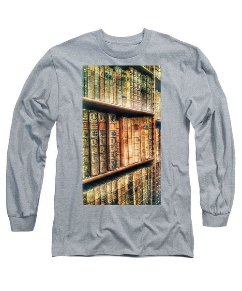 The Bookcase Long Sleeve T-Shirt