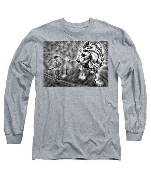 The Boy And The Lion 18 Long Sleeve T-Shirt