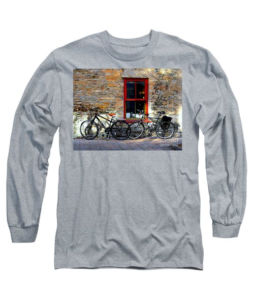 Long Sleeve T-Shirt featuring the photograph The Break by Elfriede Fulda