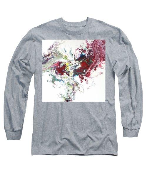 The Breath Of The Crimson Dragon Long Sleeve T-Shirt