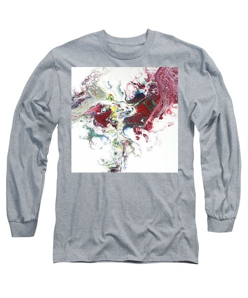 The Breath Of The Crimson Dragon Long Sleeve T-Shirt