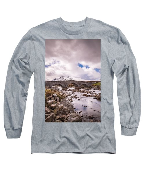 The Bridge At Sligachan On Skye Long Sleeve T-Shirt