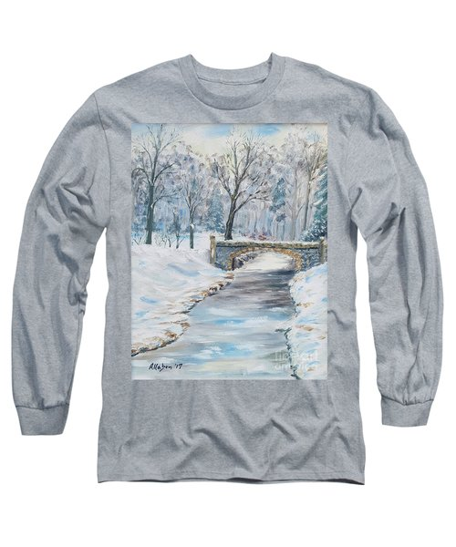 The Bridge Long Sleeve T-Shirt by Stanton Allaben