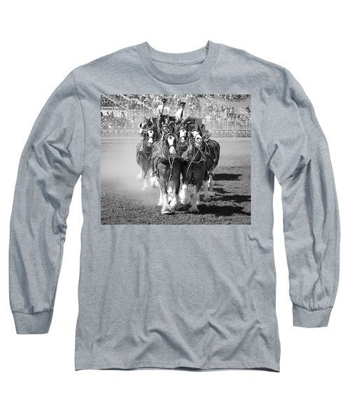 The Budweiser Clydesdales Long Sleeve T-Shirt